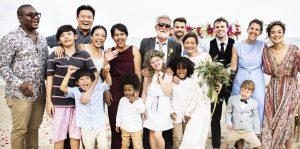 blended family, wedding